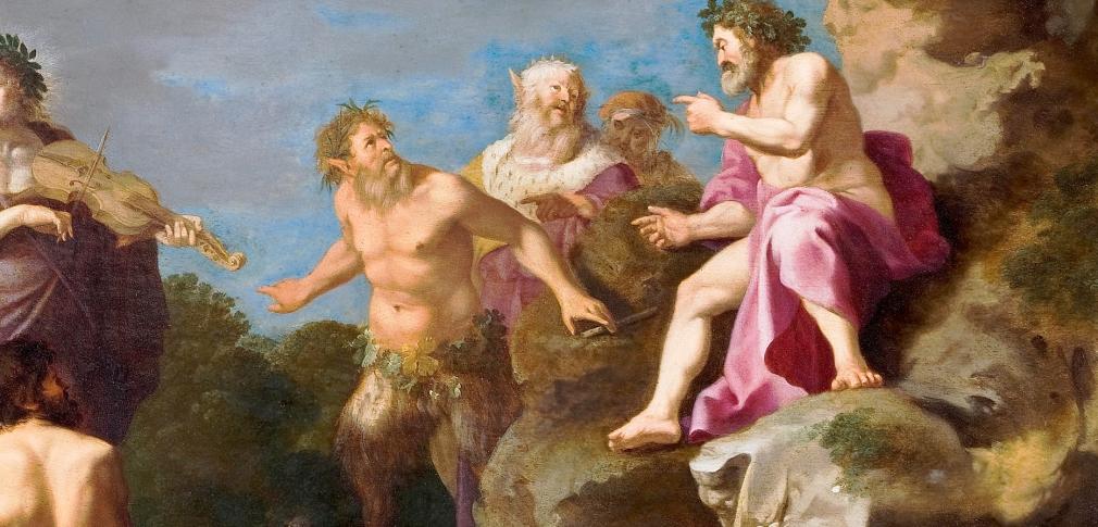 Cornelis van Poelenburgh, Apollo e Marsia, 1630