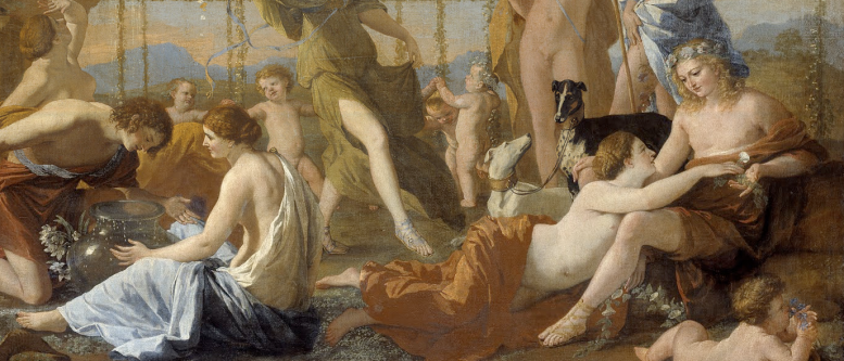 Nicolas Poussin, L_Impero di Flora, 1631_2, part.